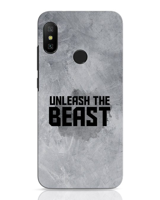Shop Beast Is Unleashed Xiaomi Redmi Note 6 Pro Mobile Cover-Front