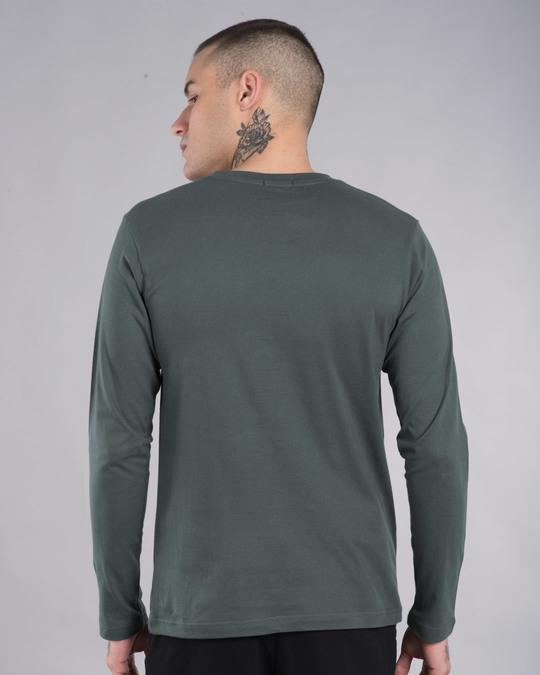 Shop Beast Tear Full Sleeve T-Shirt-Back