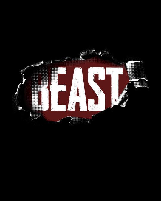 Shop Beast Tear Full Sleeve T-Shirt-Full