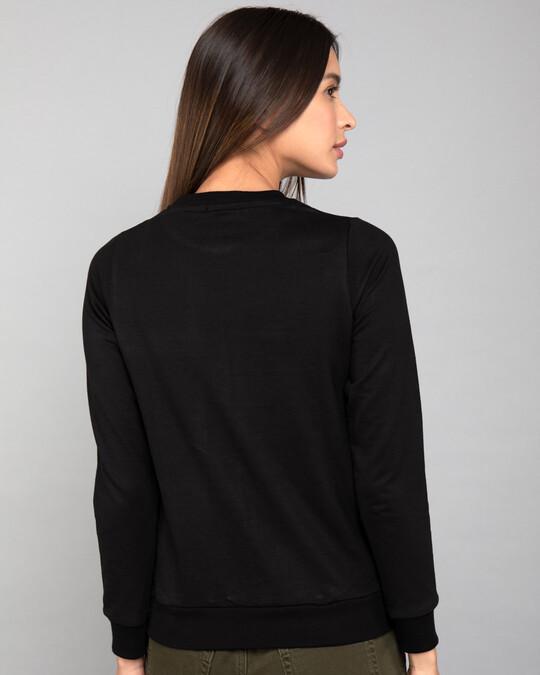 Shop Beautiful Mind Fleece Light Sweatshirts-Back