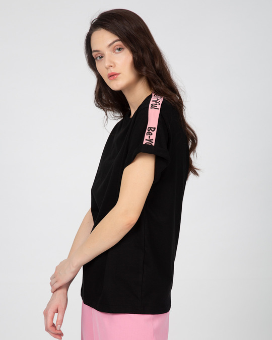Shop Beautiful You Sports Trim T-Shirt-Front