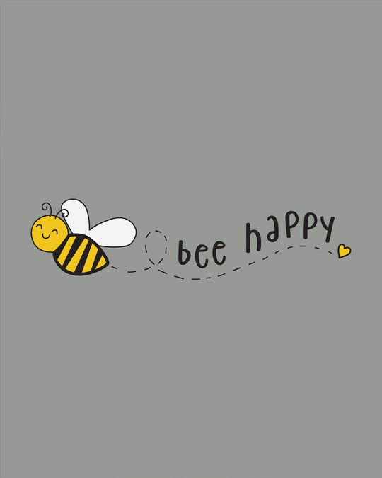 Shop Bee Happy Boyfriend T-Shirt