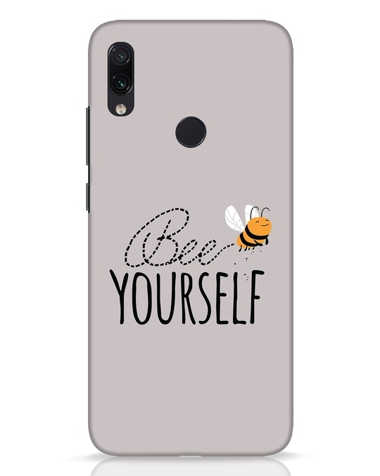 Shop Bee Yourself Xiaomi Redmi Note 7 Pro Mobile Cover-Front
