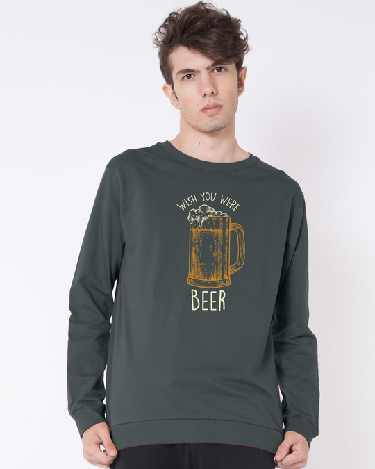 Shop Beer And You Fleece Sweater-Front