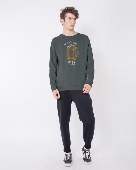 Shop Beer And You Fleece Light Sweatshirt-Design