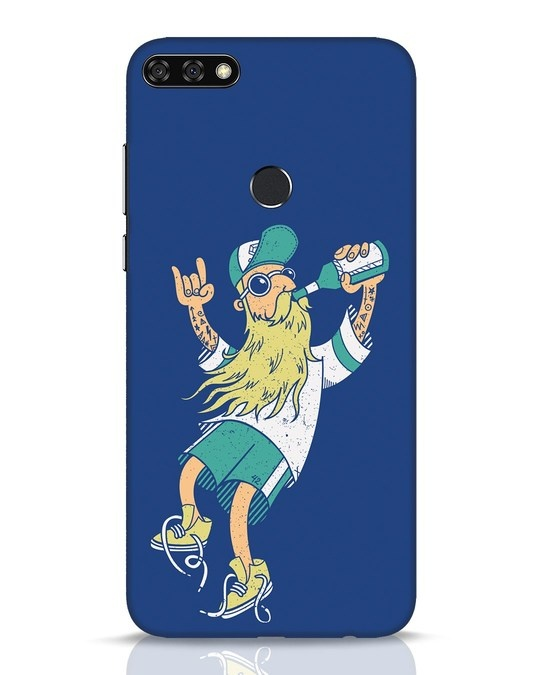 Shop Beer Guy Huawei Honor 7C Mobile Cover-Front