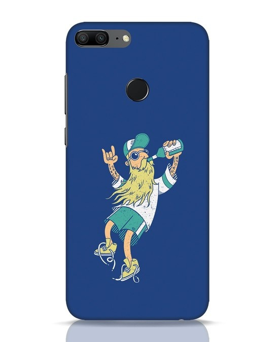 Shop Beer Guy Huawei Honor 9 Lite Mobile Cover-Front