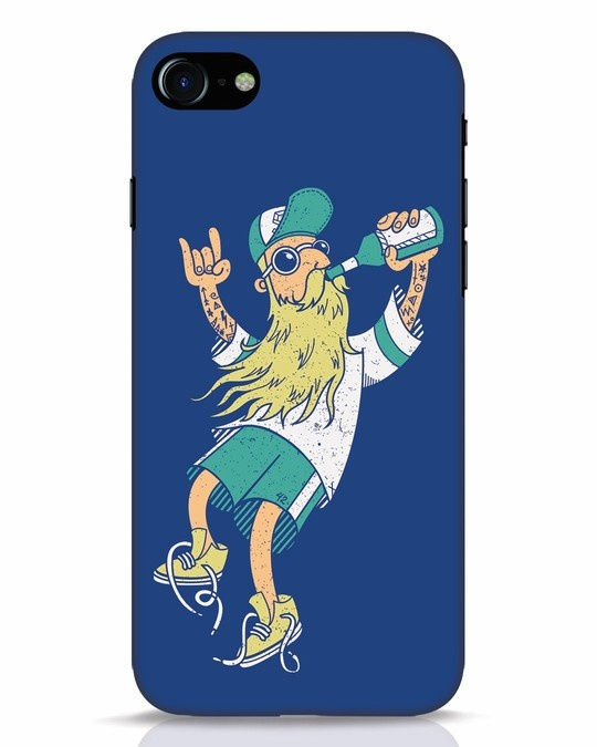 Shop Beer Guy iPhone 7 Mobile Cover-Front