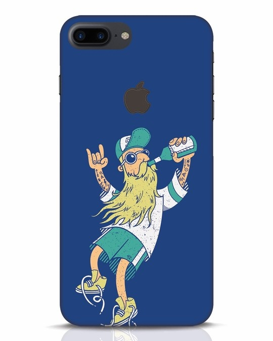 Shop Beer Guy iPhone 7 Plus Logo Cut Mobile Cover-Front