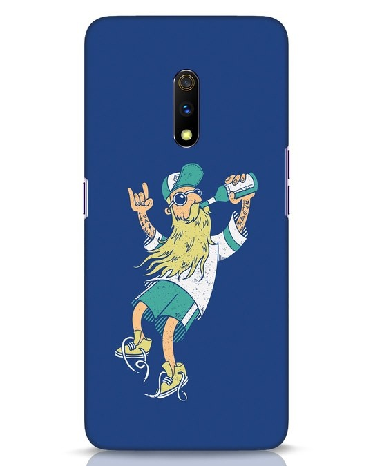 Shop Beer Guy Realme X Mobile Cover-Front