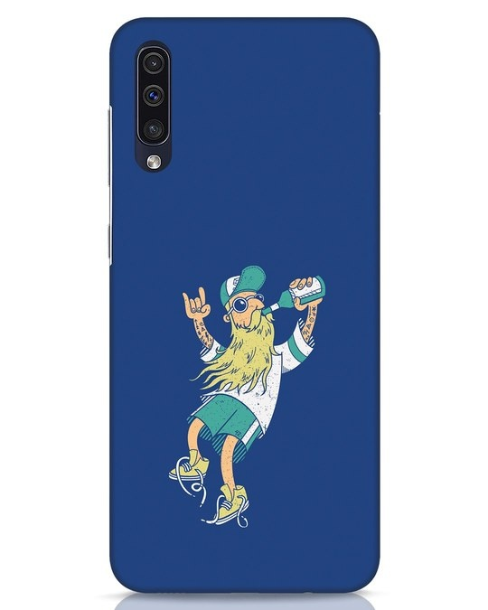 Shop Beer Guy Samsung Galaxy A50 Mobile Cover-Front