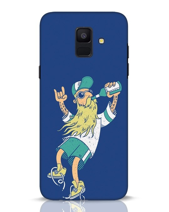 Shop Beer Guy Samsung Galaxy A6 2018 Mobile Cover-Front