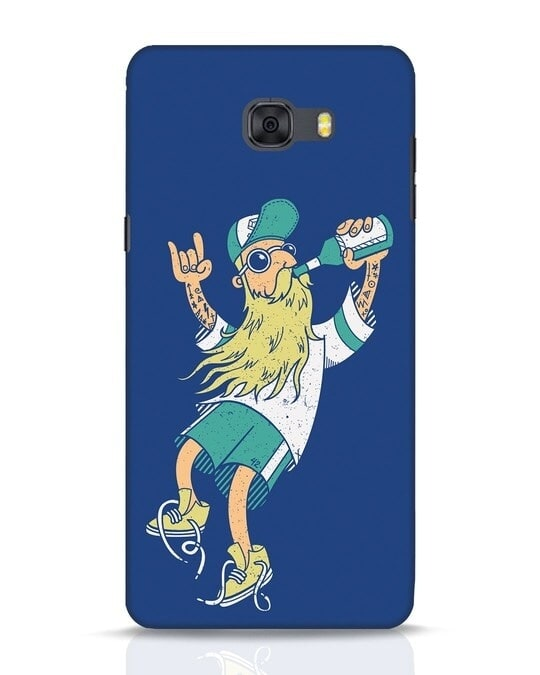 Shop Beer Guy Samsung Galaxy C9 Pro Mobile Cover-Front