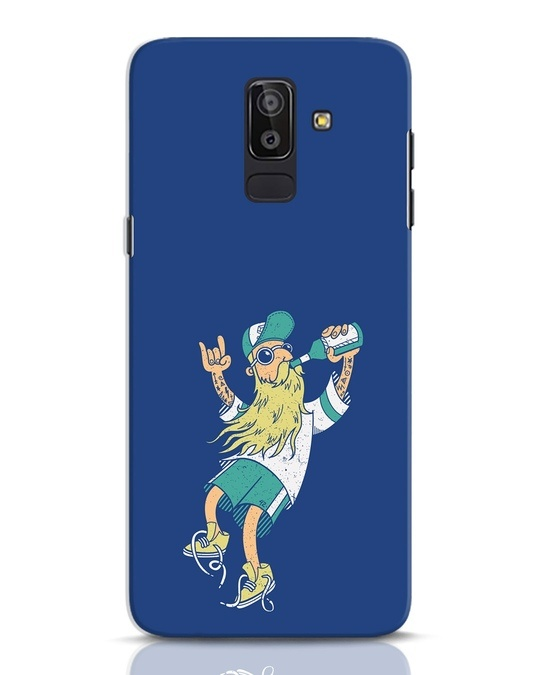 Shop Beer Guy Samsung Galaxy J8 Mobile Cover-Front