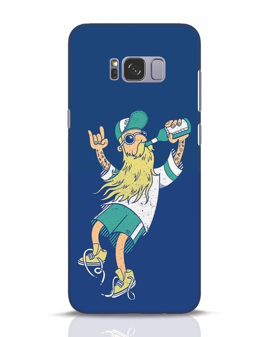 Shop Beer Guy Samsung Galaxy S8 Plus Mobile Cover-Front