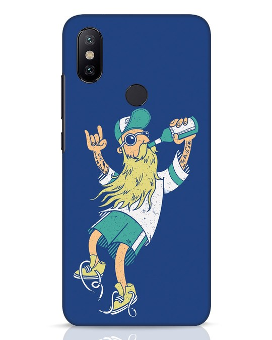 Shop Beer Guy Xiaomi Mi A2 Mobile Cover-Front