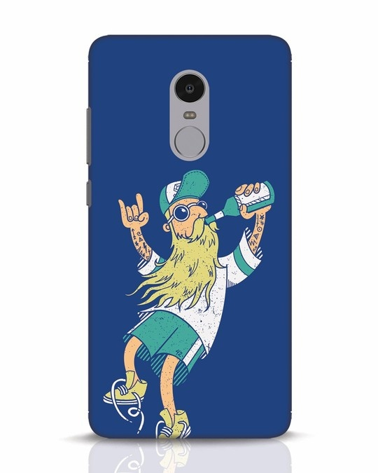 Shop Beer Guy Xiaomi Redmi Note 4 Mobile Cover-Front