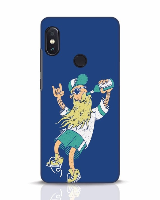 Shop Beer Guy Xiaomi Redmi Note 5 Pro Mobile Cover-Front
