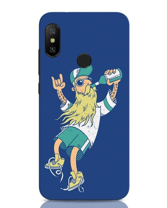 Shop Beer Guy Xiaomi Redmi Note 6 Pro Mobile Cover-Front