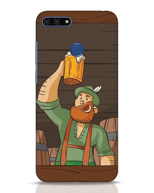 Shop Beer It On Huawei Honor 7A Mobile Cover-Front