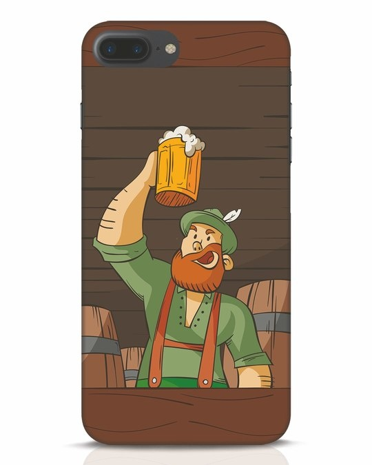 Shop Beer It On iPhone 7 Plus Mobile Cover-Front