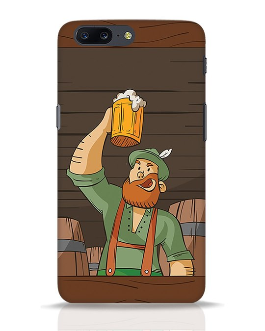 Shop Beer It On OnePlus 5 Mobile Cover-Front