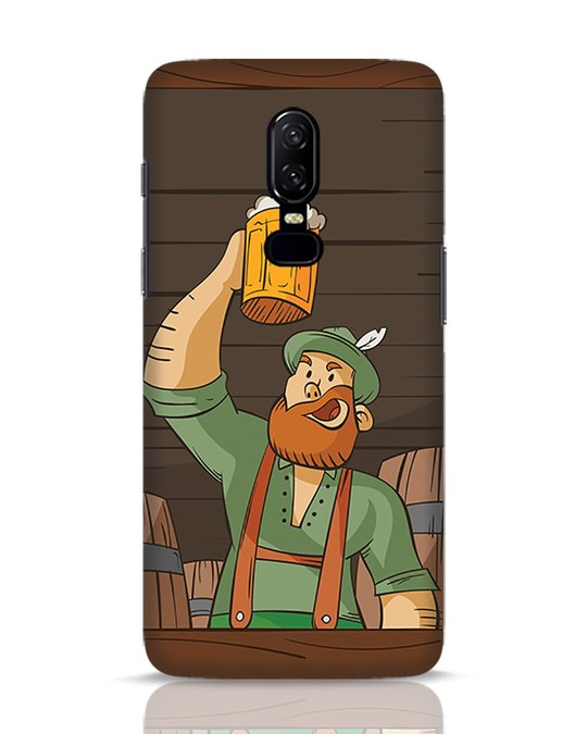 Shop Beer It On OnePlus 6 Mobile Cover-Front