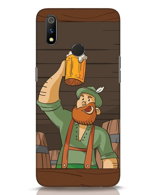 Shop Beer It On Realme 3 Pro Mobile Cover-Front