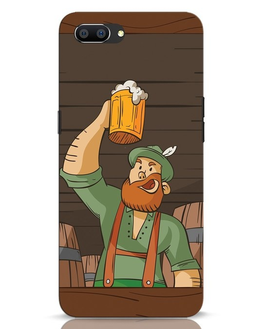 Shop Beer It On Realme C1 Mobile Cover-Front