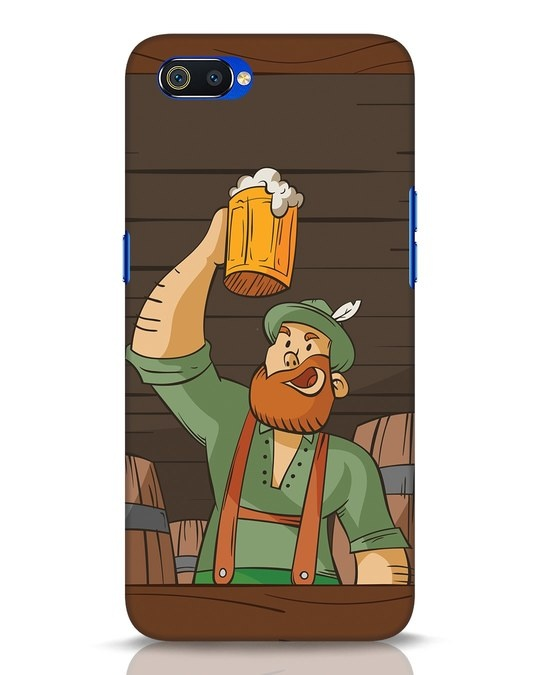 Shop Beer It On Realme C2 Mobile Cover-Front