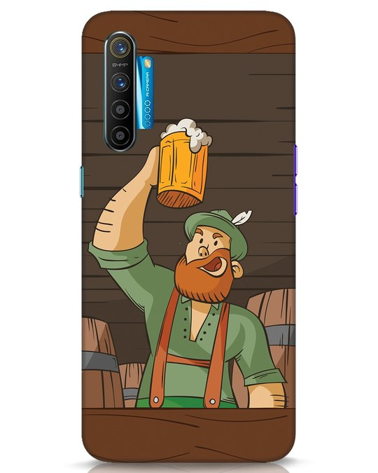 Shop Beer It On Realme XT Mobile Cover-Front