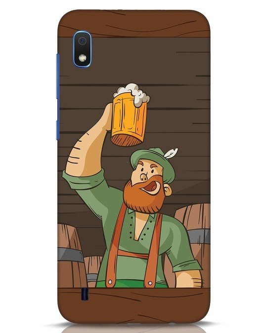 Shop Beer It On Samsung Galaxy A10 Mobile Cover-Front