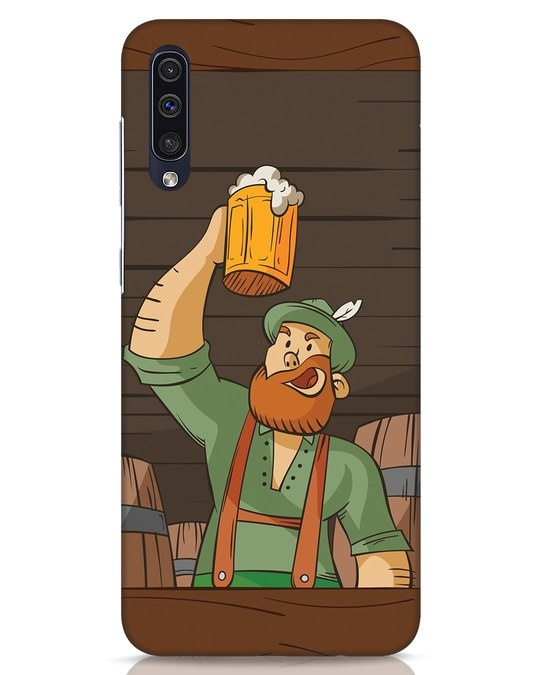 Shop Beer It On Samsung Galaxy A50 Mobile Cover-Front