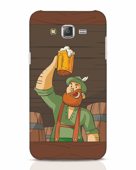 Shop Beer It On Samsung Galaxy J7 Mobile Cover-Front