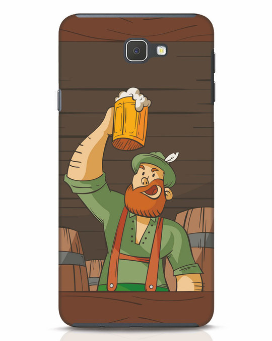 Shop Beer It On Samsung Galaxy J7 Prime Mobile Cover-Front