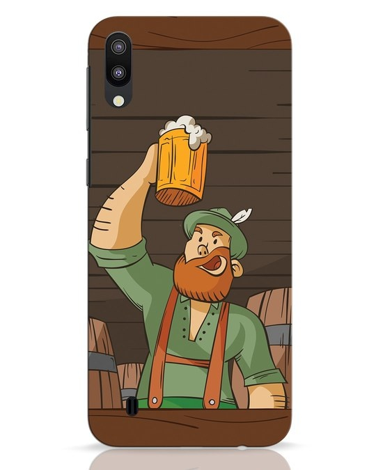 Shop Beer It On Samsung Galaxy M10 Mobile Cover-Front