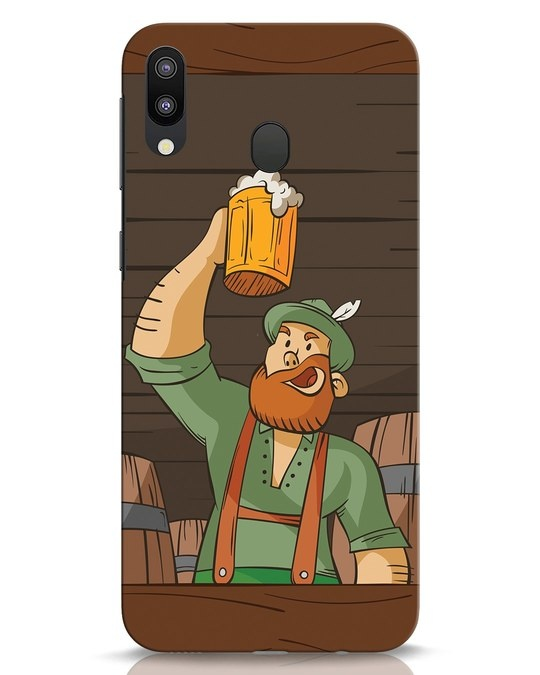 Shop Beer It On Samsung Galaxy M20 Mobile Cover-Front