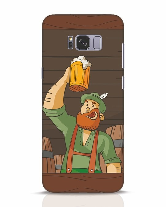 Shop Beer It On Samsung Galaxy S8 Plus Mobile Cover-Front