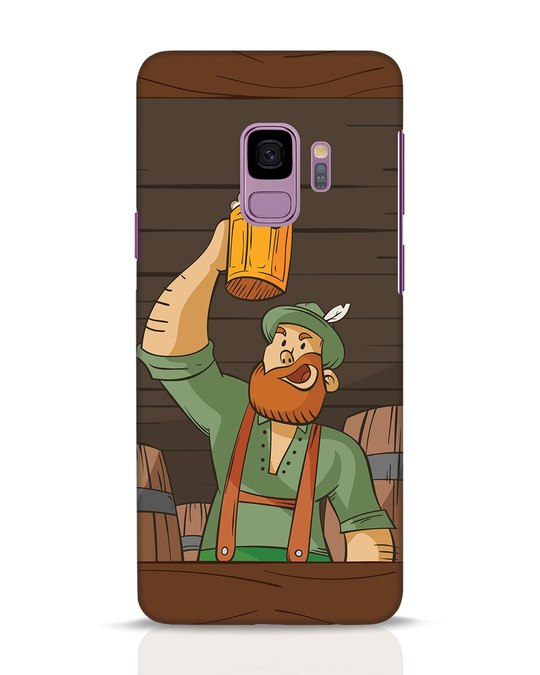 Shop Beer It On Samsung Galaxy S9 Mobile Cover-Front