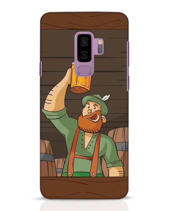Shop Beer It On Samsung Galaxy S9 Plus Mobile Cover-Front