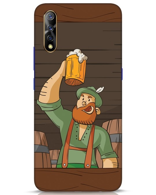 Shop Beer It On Vivo S1 Mobile Cover-Front