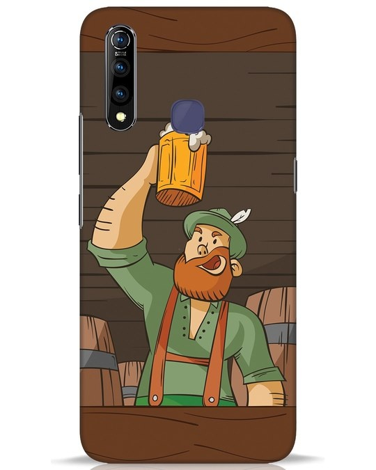 Shop Beer It On Vivo Z1 Pro Mobile Cover-Front