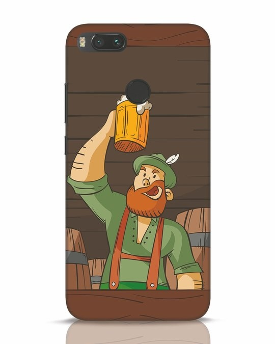 Shop Beer It On Xiaomi Mi A1 Mobile Cover-Front