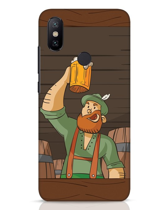 Shop Beer It On Xiaomi Mi A2 Mobile Cover-Front