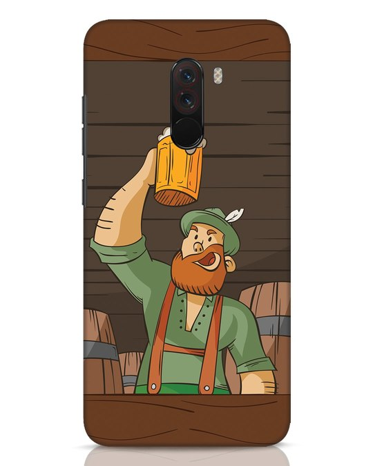 Shop Beer It On Xiaomi POCO F1 Mobile Cover-Front