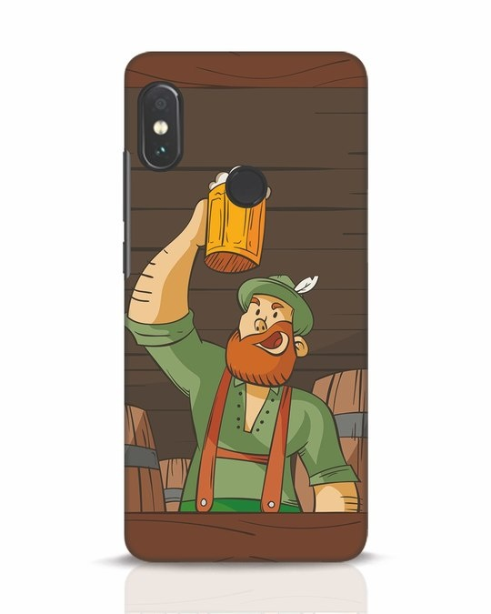 Shop Beer It On Xiaomi Redmi Note 5 Pro Mobile Cover-Front
