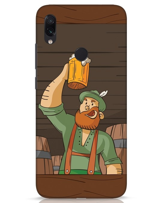 Shop Beer It On Xiaomi Redmi Note 7s Mobile Cover-Front