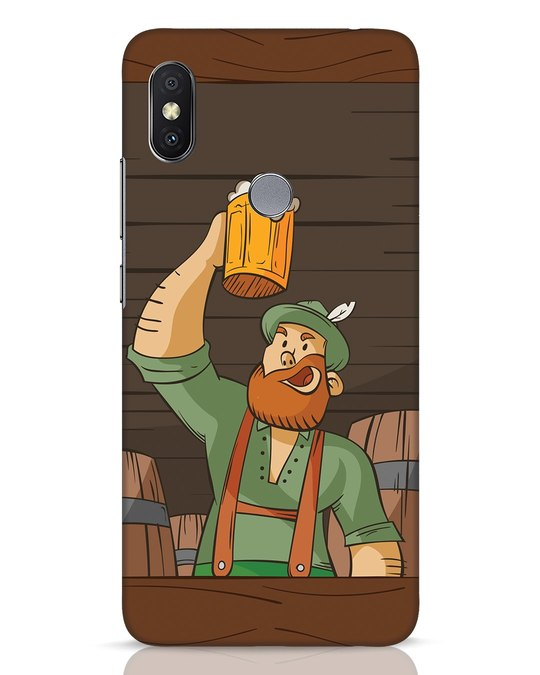 Shop Beer It On Xiaomi Redmi Y2 Mobile Cover-Front