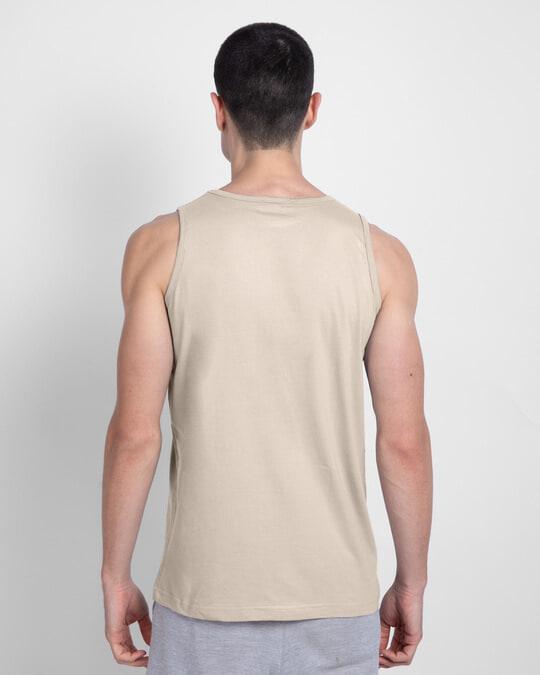 Shop Beige Grey Vest-Design
