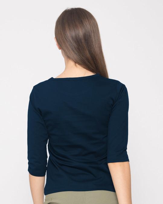 Shop Being Original Round Neck 3/4th Sleeve T-Shirt-Full